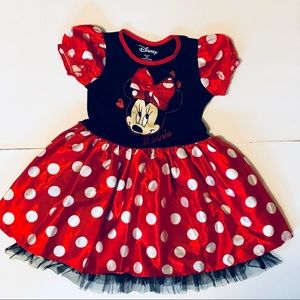 Disney Minnie Mouse Dress/Costume